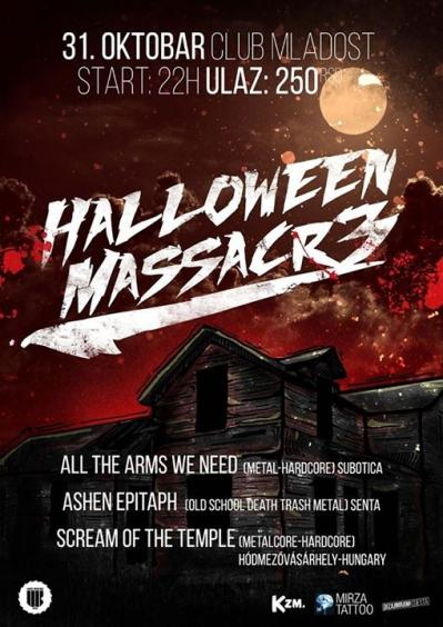 Halloween massacre Mladost club