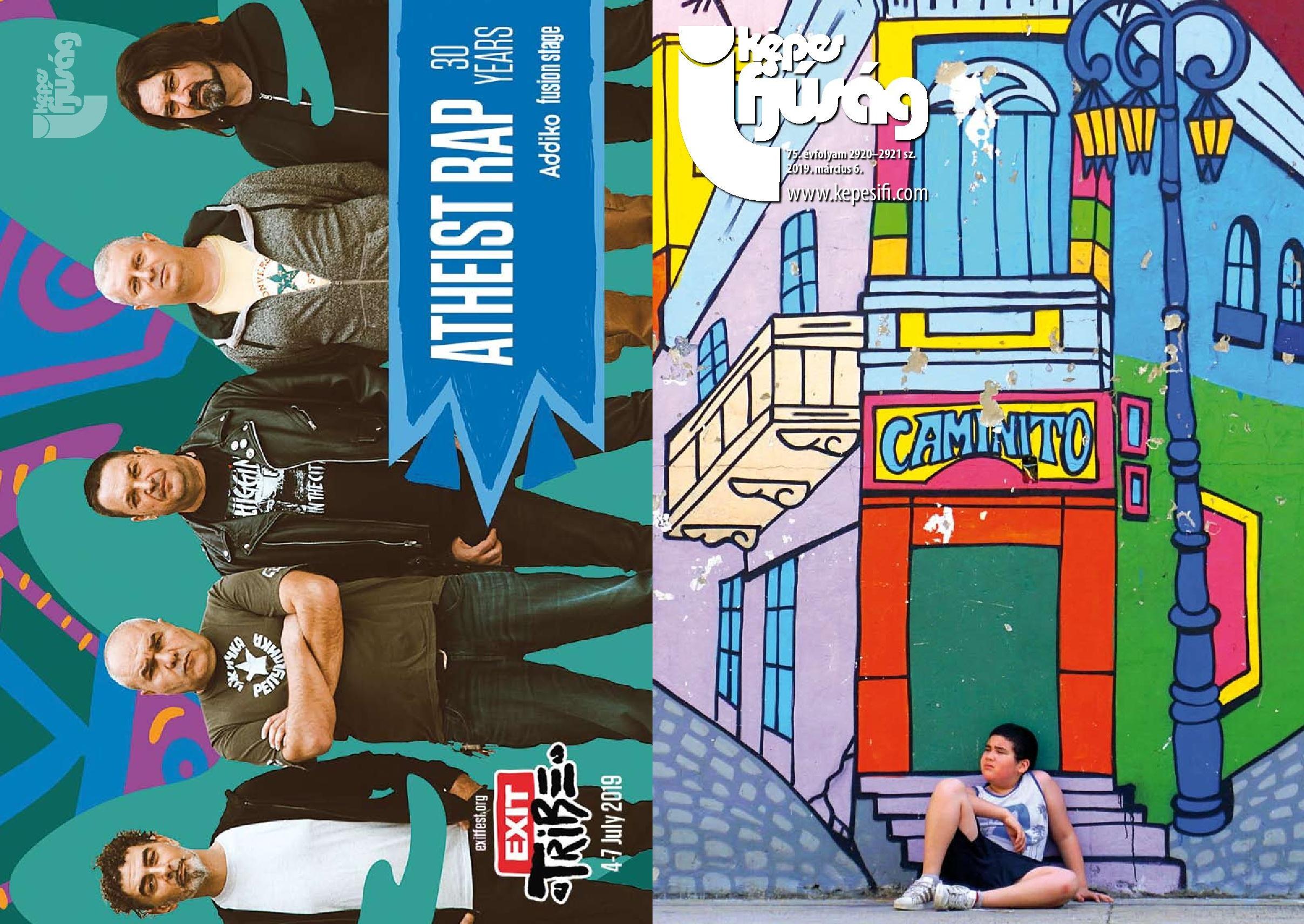 Címoldal: Gazsó Orsolya Hátsó oldal: www.exitfest.org