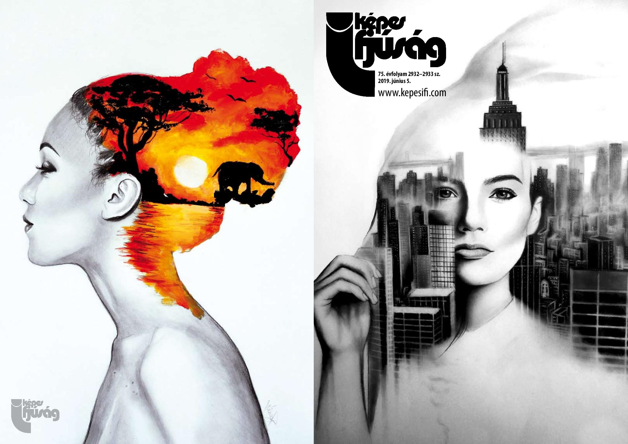 Címoldal és hátsó oldal: Harmat Nikolett – Ninny Art