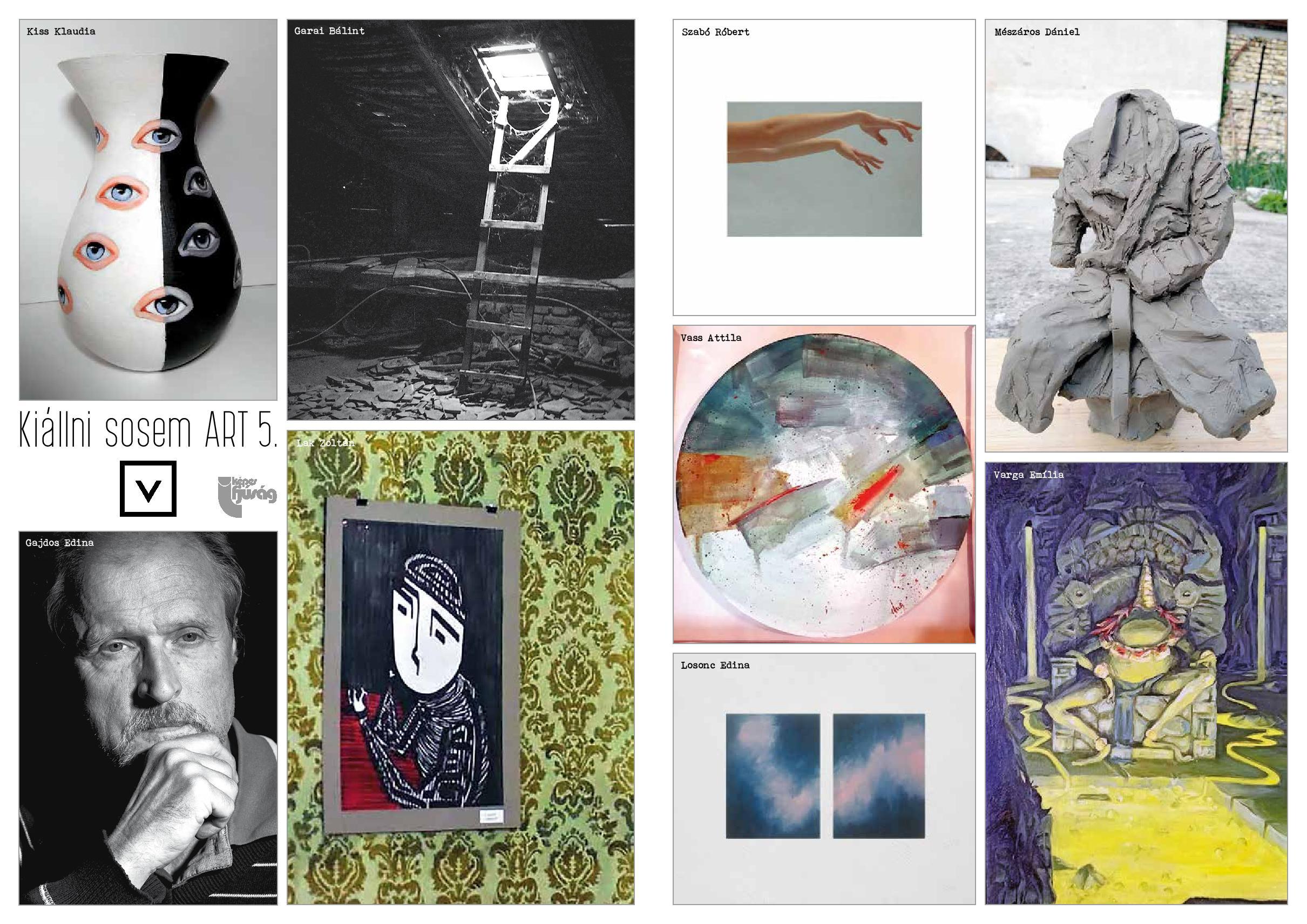 Belső oldal: Kiállni sosem ART