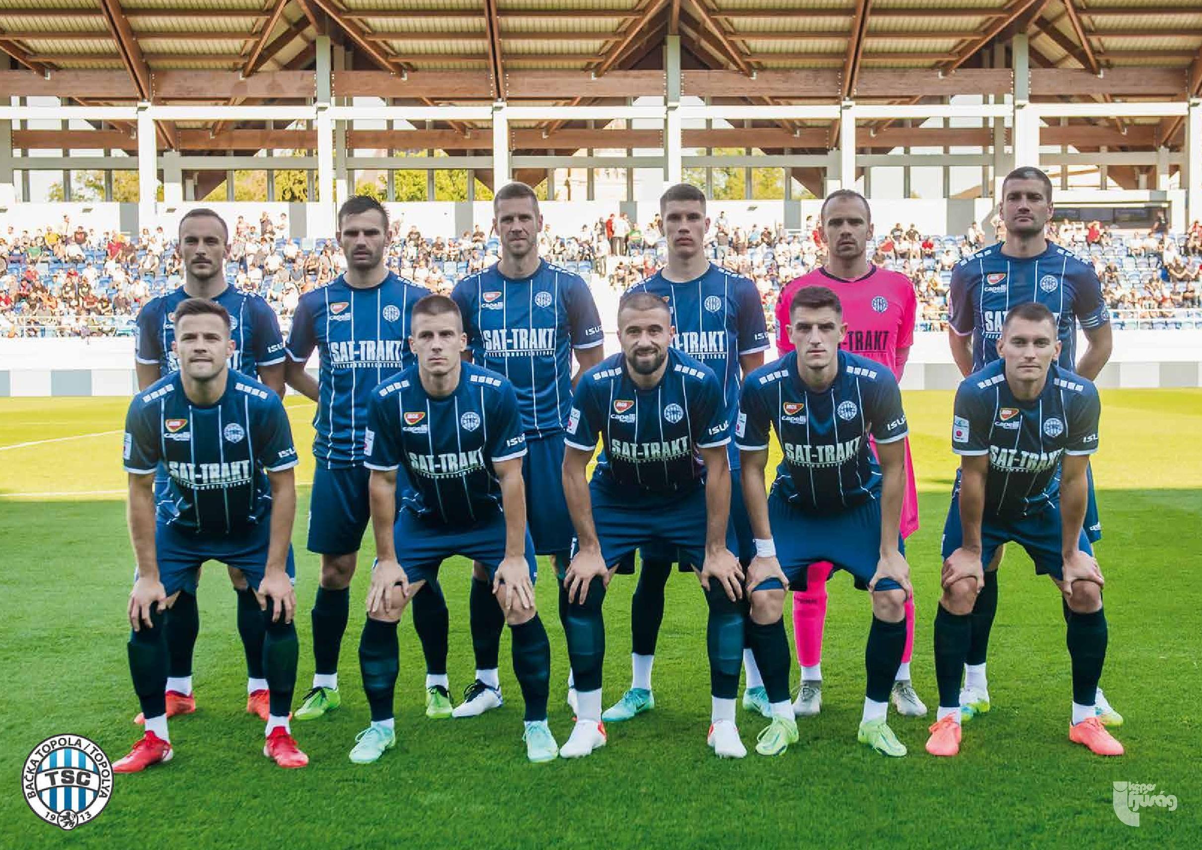 Belső borító: FK TSC